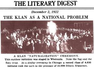 Chicago Ceremony KKK
