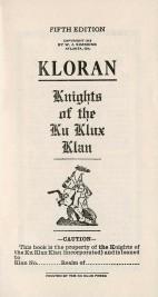 Kloran 1915 (2)