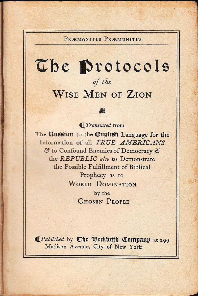 Beckwith Protocols 1920